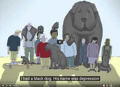 Cover image for link to I had a black dog video