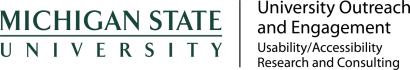 MSU Outreach and Community Engagement logo